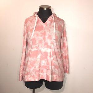 Lane Bryant Livi 18/20 Peachy Pink Sweatshirt
